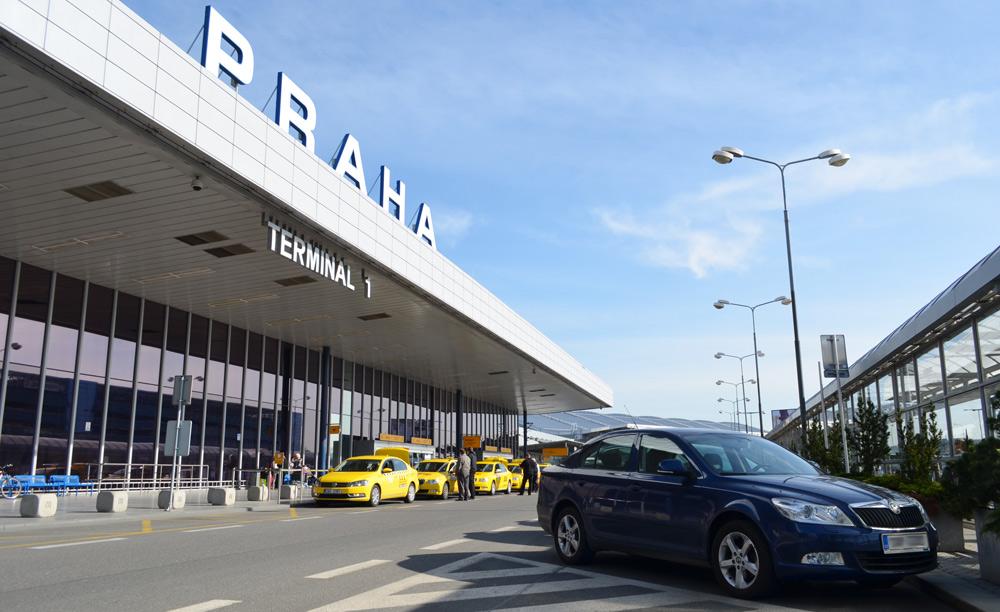 Фотография аэропорта в Праге