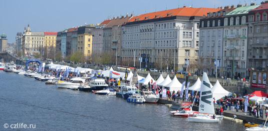 Фестиваль яхт в Праге
