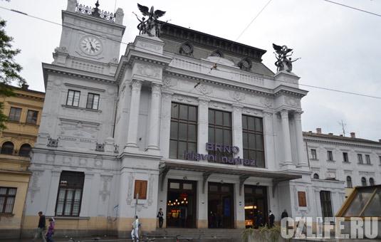 вокзала в Брно