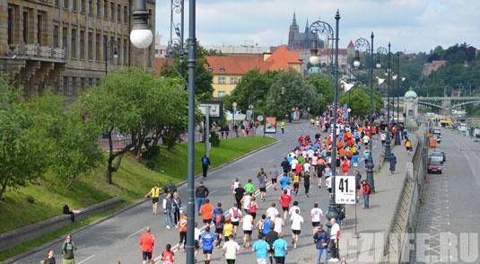 Марафон в Праге 2012 год