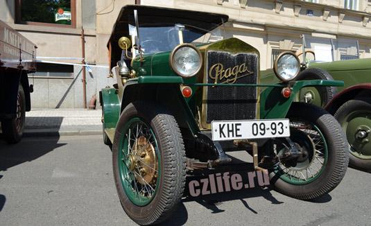 Раритетные автомобили в Чехии