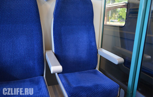 Купе в чешских поездах