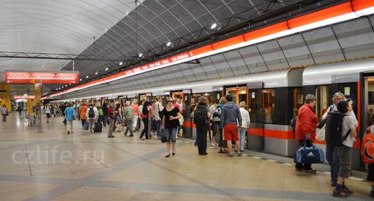 Фотография метро  Праги