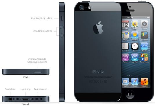 iPhone 5 в Чехии