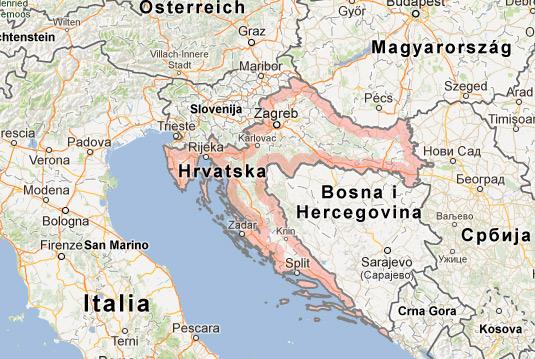 Как долететь из Праги в Хорватию