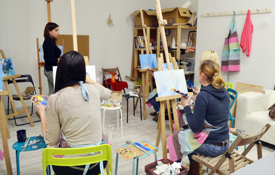 Уроки рисования в Праге