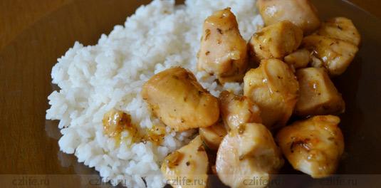 Рецепт курицы в медовом соусе