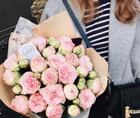 Цветы в Праге