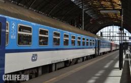 Поезда в Чехии