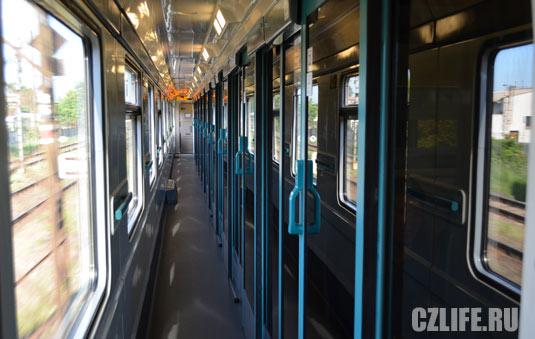 внутри поезда внутри фото