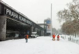 В Чехию должны придти снегопады